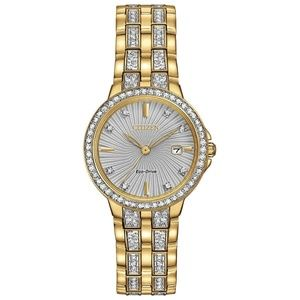 CITIZEN Eco-drive watches, SWAROVSKI CRYSTAL